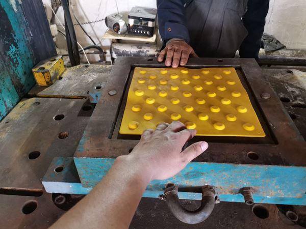 Тактильная плитка из пластика